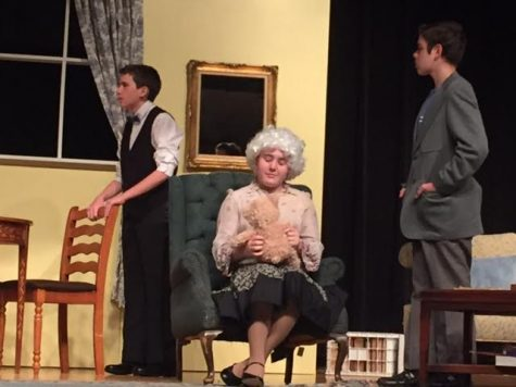 "HHS Theater puts on fall production of ""The Curious Savage"""