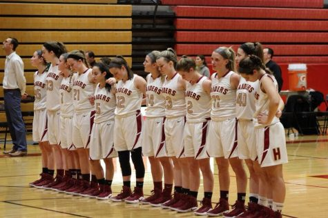 Girls hoops finishes with nine wins, the most in six seasons