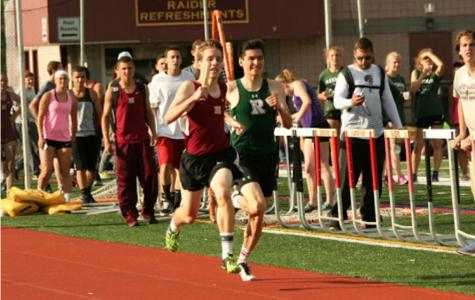 Boys track breaks school record