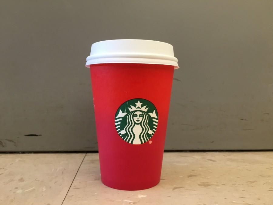 Starbucks created a stir with its holiday cups this year.