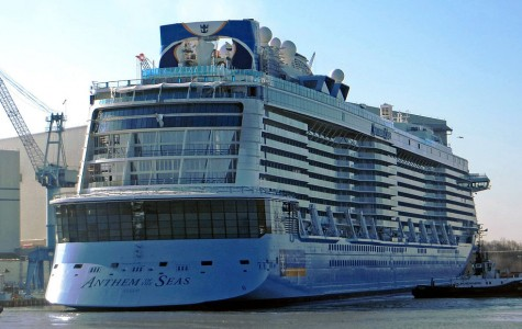 Anthem of the Seas plays a sad song