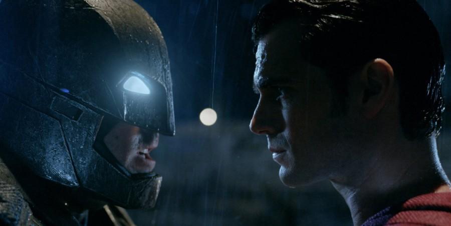 Ben Affleck and Henry Cavill in Batman v. Superman: Dawn of Justice.