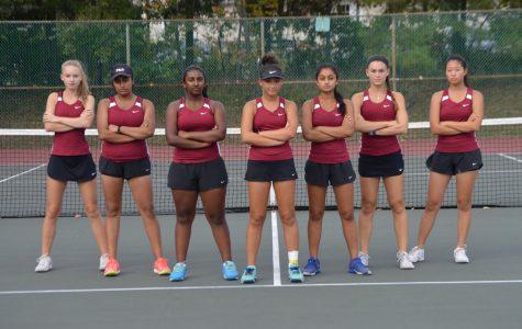 Girls tennis swings into new season
