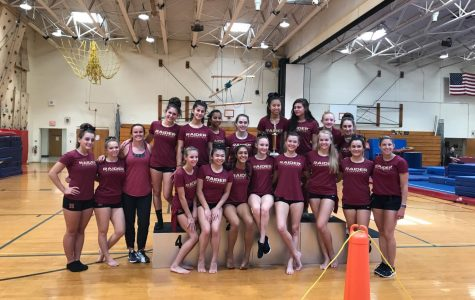 Girls Gymnastics is on path to another undefeated season