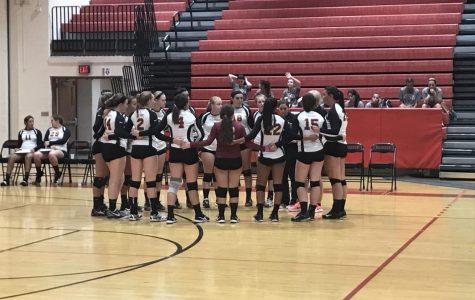 Girls volleyball earns first win of season