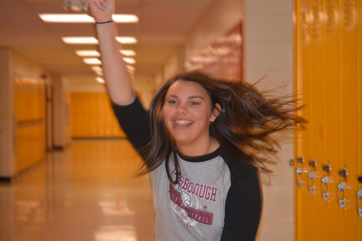Senior Jillian Boose is a vibrant personality, and makes HHS the place that it is.