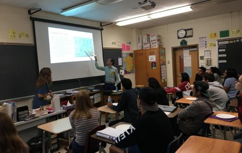 AP French students visited by French students from abroad