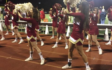 Cheerleading seniors honored for their service and dedication