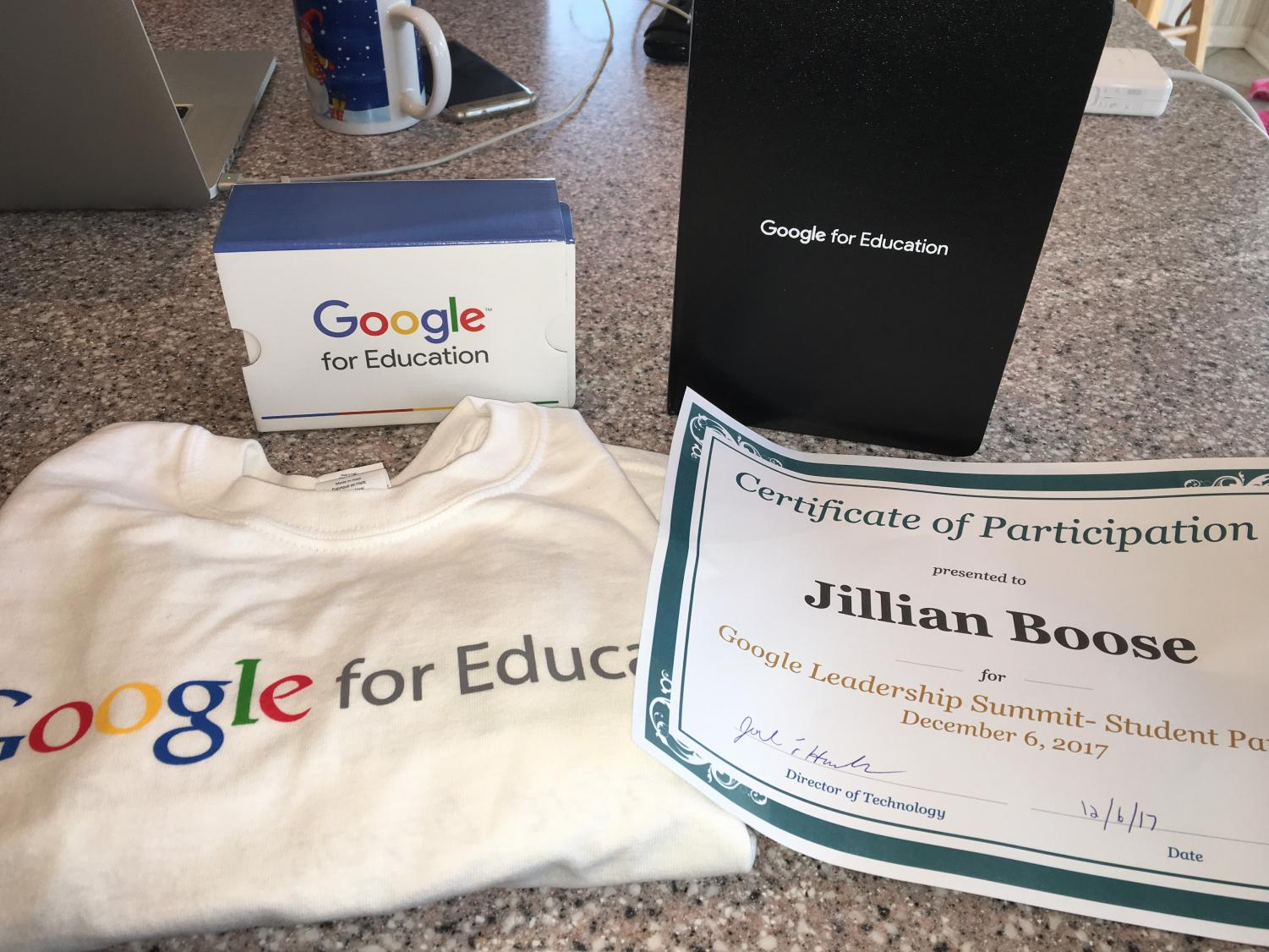 The goodies were aplenty for Goggle Summit attendees such as Jillian Boose.