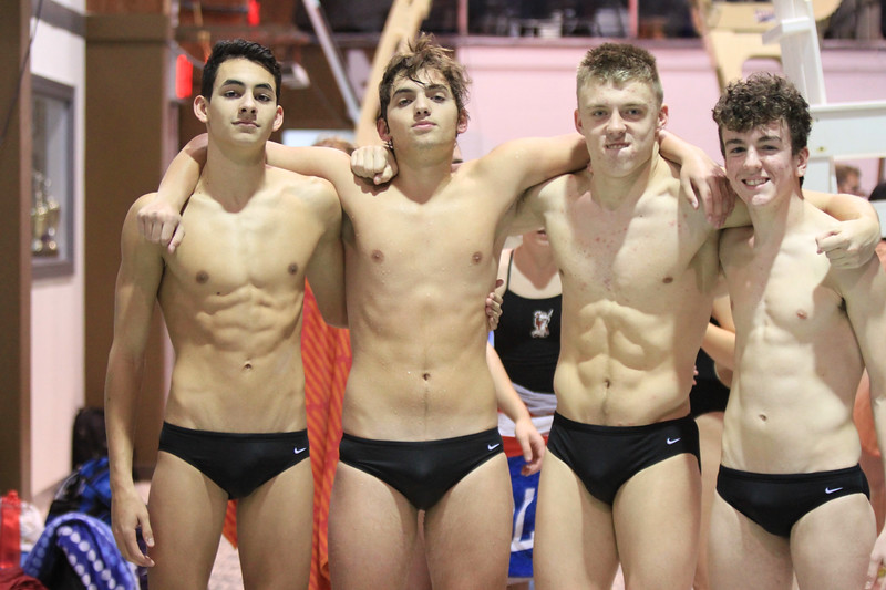 Juniors+Matt+Ciattarelli%2C+Matt+Roarty%2C+Thomas+Zdroik%2C+and+Joe+Cseh+hope+to+make+an+impact+this+season+in+the+pool.