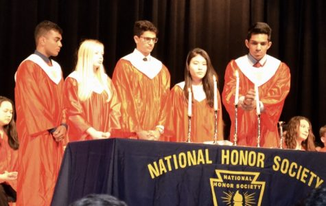NHS welcomes newest inductees