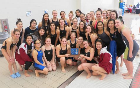 Girls swim wins third consecutive sectional title