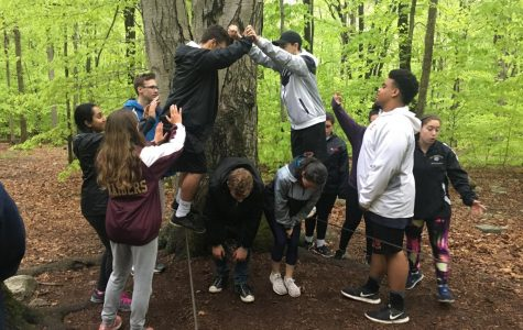 2018-19 Peer Mentors take on Camp Mason