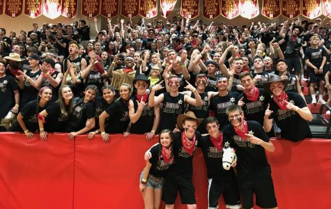 Seniors win Spirit Night 2018