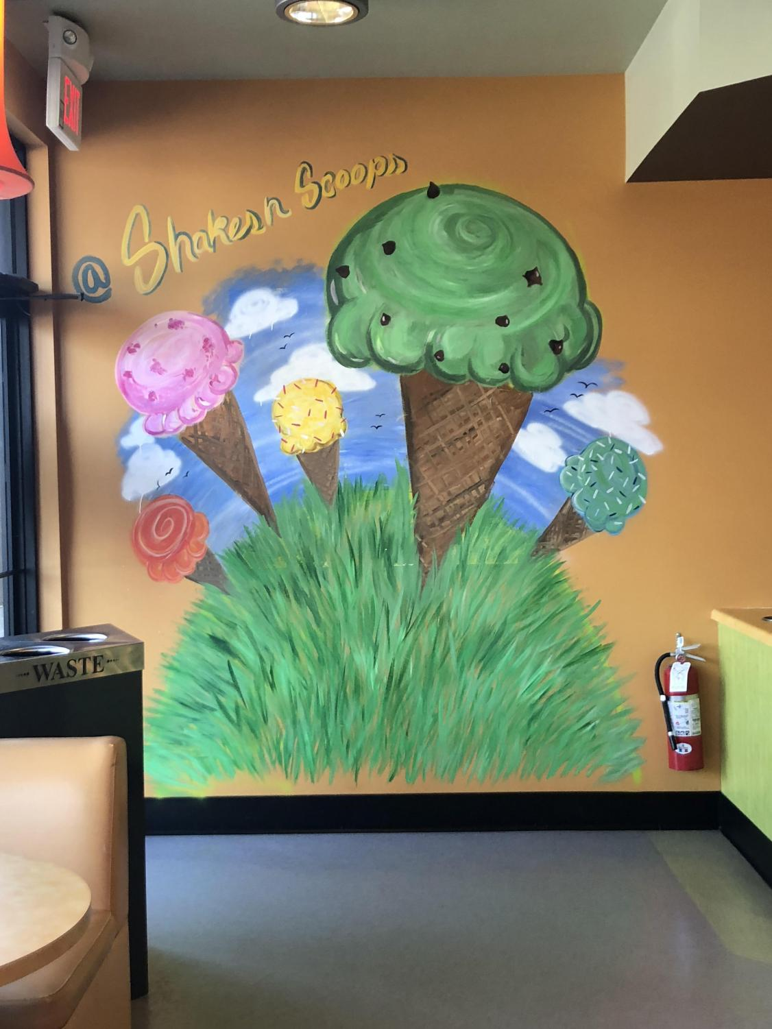 Visit Shakes 'n' Scoops which is located on Route 206 near Culinary Creations.