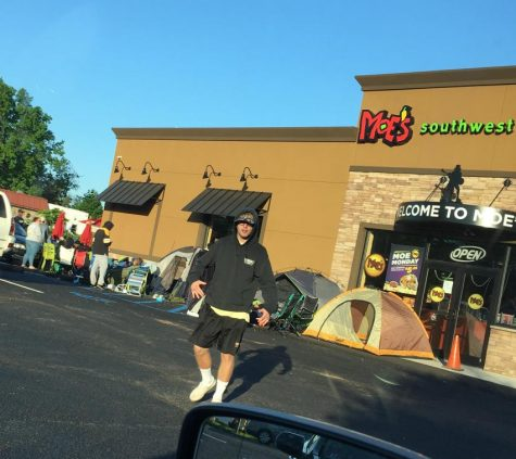 Hillsborough students welcome Moe's, cop burritos for a year
