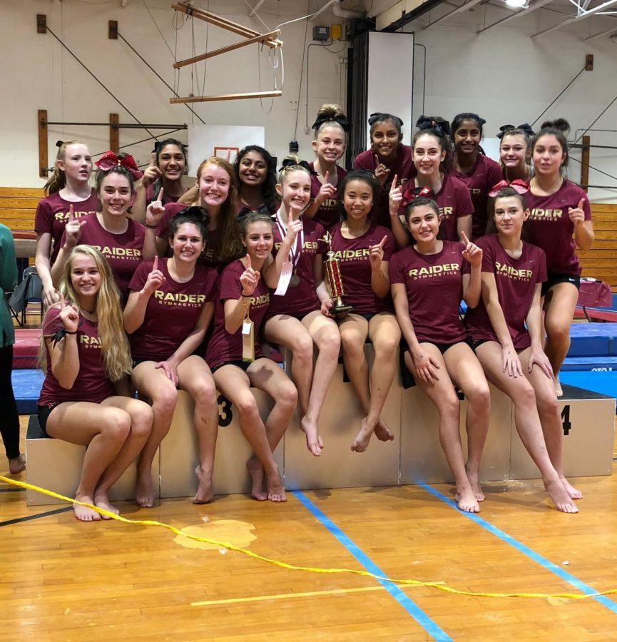 Ringel leads gymnastics in Raider Invitational win