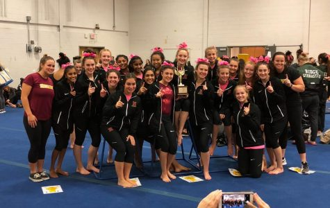 HHS gymnastics storms to 5th straight Somerset County title