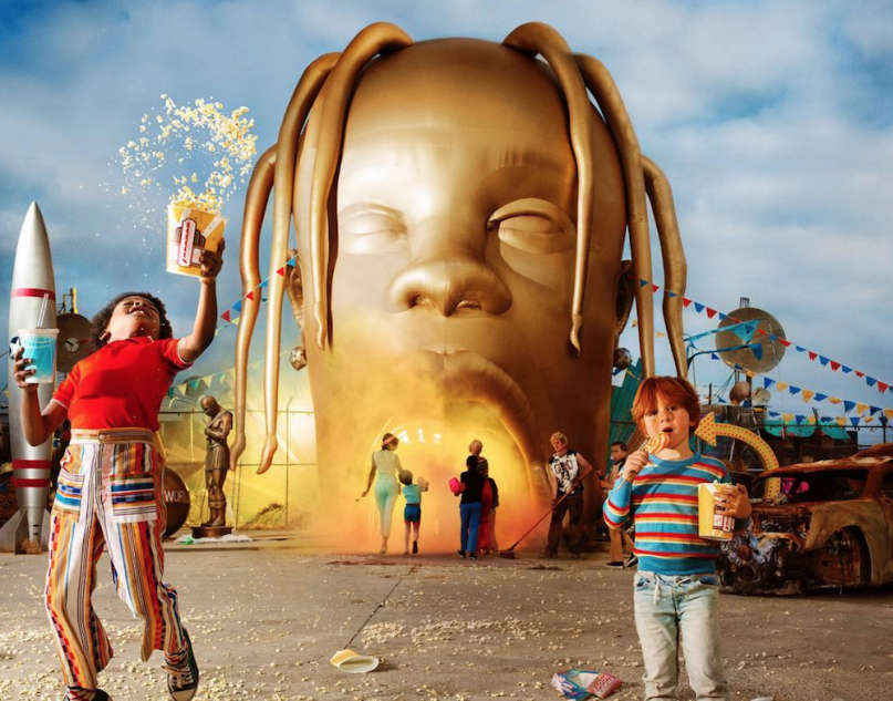 Travis+Scott%27s+%22SICKO+MODE%22%2C+from+his+album+Astroworld%2C+was+released+as+a+video+earlier+this+month.