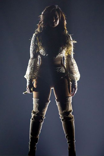 Demi Lovato wants to regain her strength and push past her obstacles before returning to the spotlight.