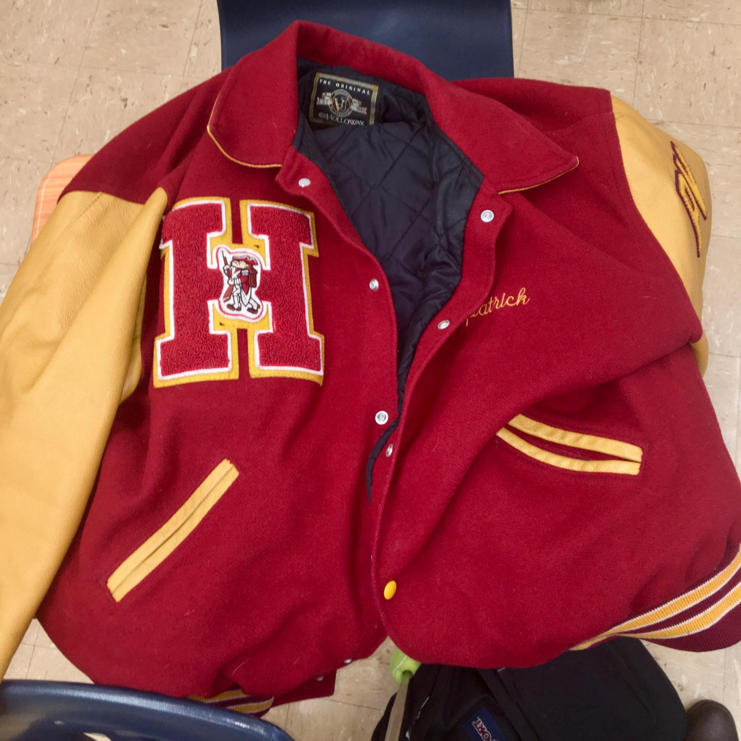The much coveted varsity jacket that will remain out of reach for this year's dance team members.