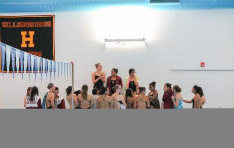 Girls swim team starts season with win over Mount Saint Mary