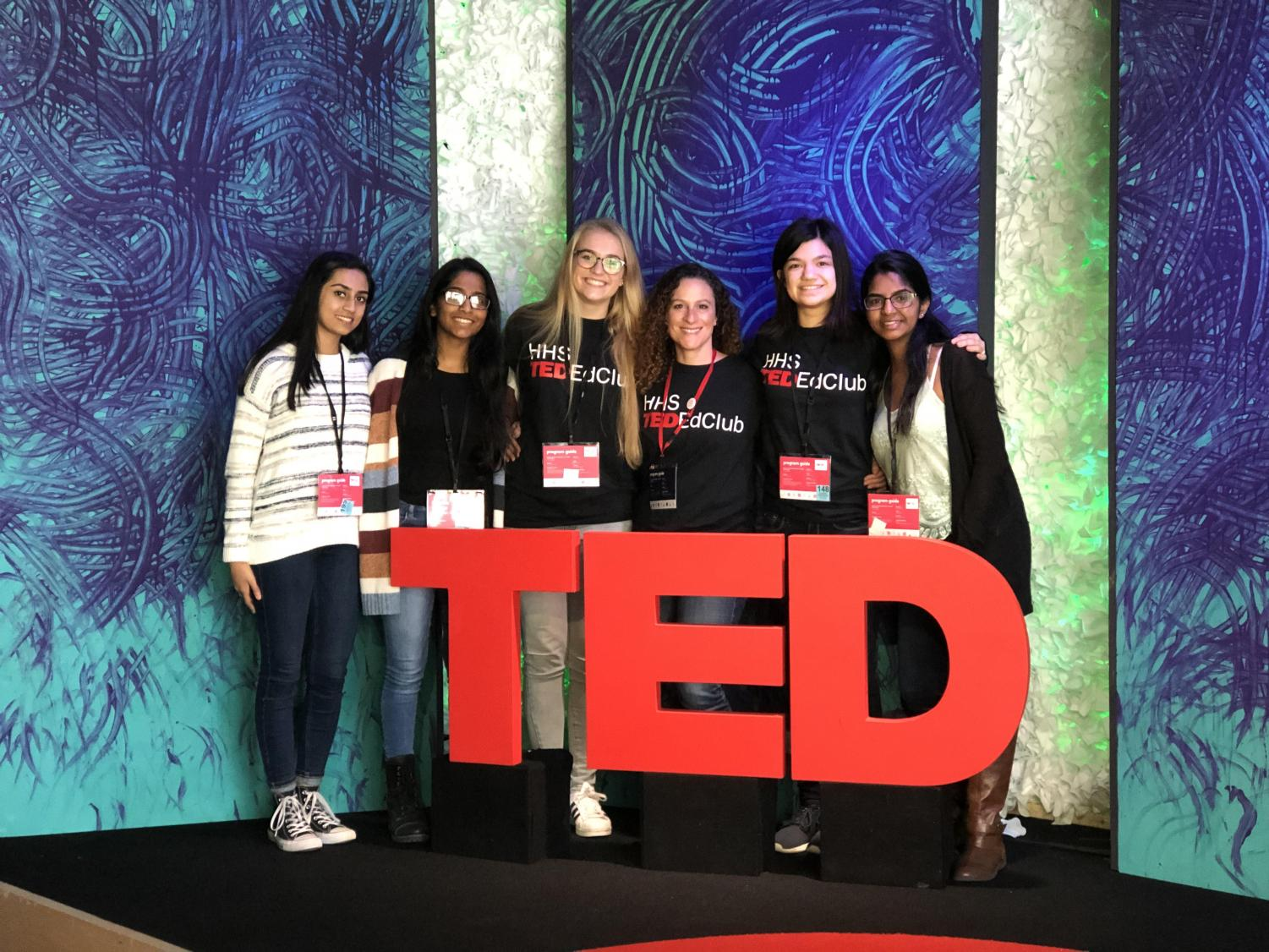 HHS's TED Ed Club members represented the school's chapter in New York City last month.