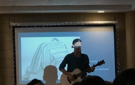 Students showcase their artistic talents at Coffee House