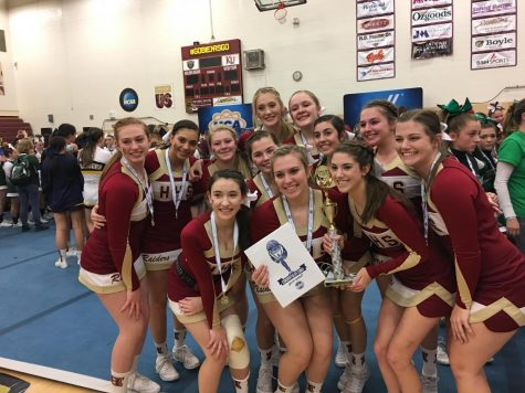 Competition cheer team wins bid to nationals