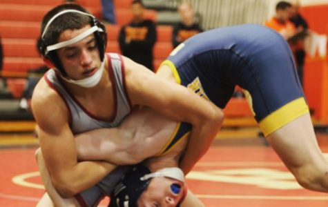 Wrestling team opens season with young team on Dec. 19.
