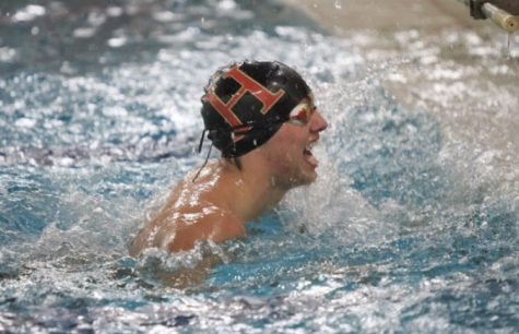 Boys swim gives impressive performance to win third at Conference Championships