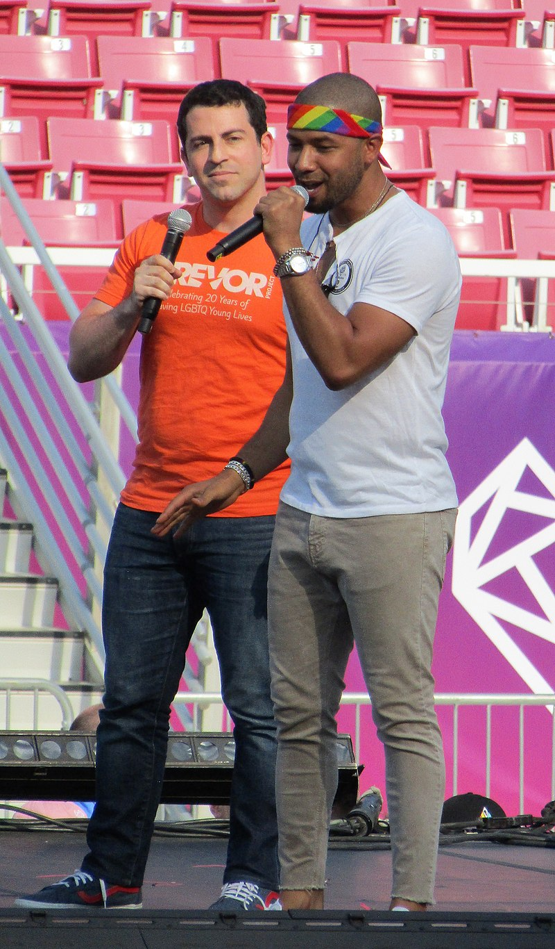 Jussie Smollett at the 2018 LoveLoud Festival, an organazation that raises money to aid numerous LGBTQ+ charities.