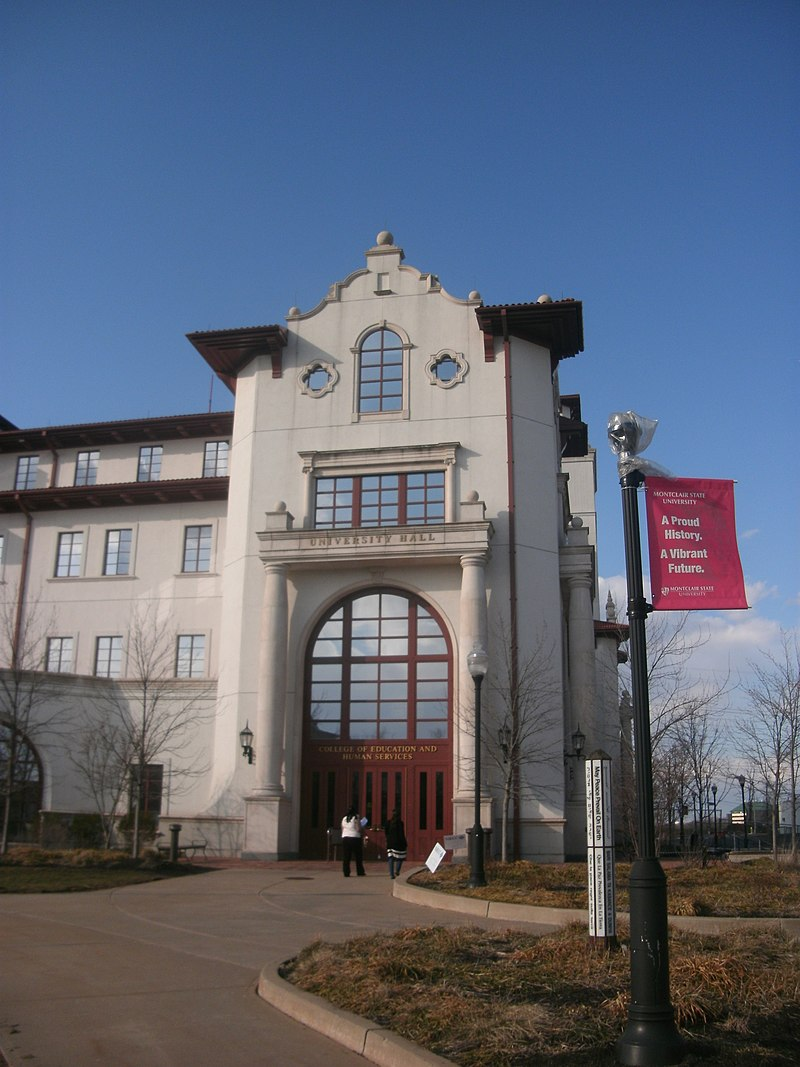 Montclair State University is one of the state's academic gems located a short trip from Manhattan.