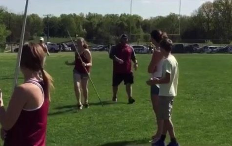 Junior Jessica Sutter balances javelin with her personal life