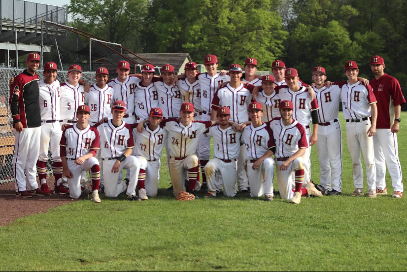 The baseball team ended their season with a record of 16-6, and won the Skyland Conference.