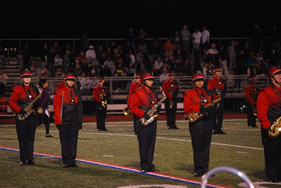 Advanced Film Students Capture Marching Band's Performance