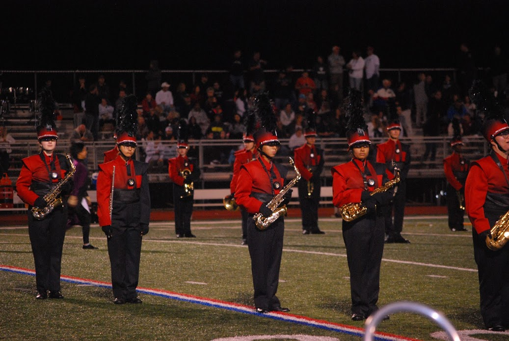 The band during their showcased performance, which was captured on film by Advanced Video & Film students.