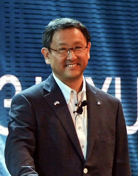 Akio Toyota looks to bring the idea of a smart city to reality