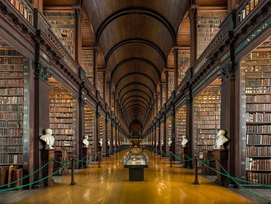 Trinity College in Dublin, Ireland.