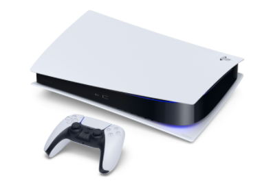 PS5 changes its color scheme to black and white.