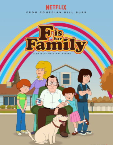 F is for the Family cast, starring Frank Murphy.