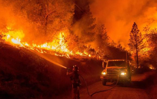 The 2020 California wild fires are cause of a mixture of environmental factors.