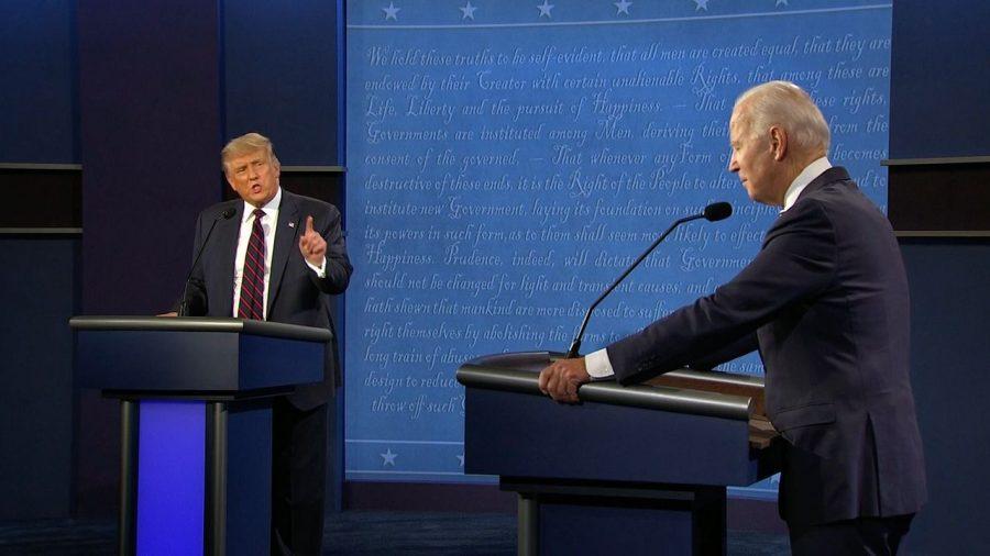 This debate took place October 22, 2020