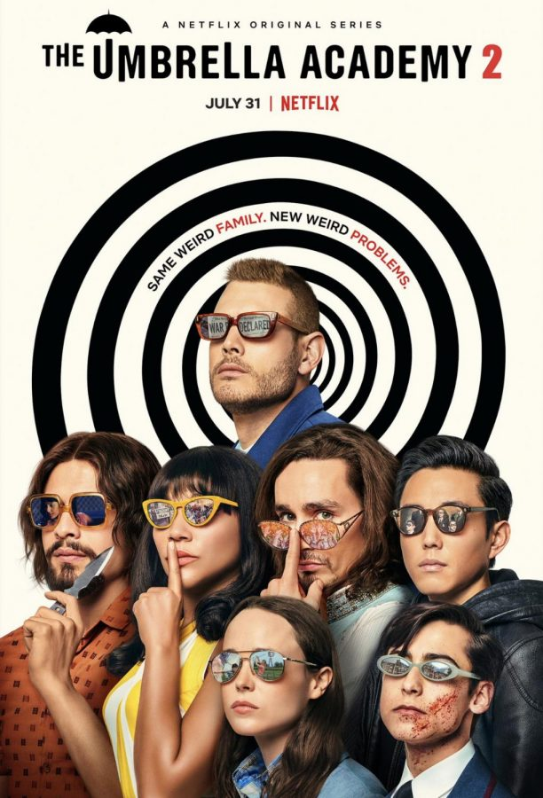 The second season of The Umbrella Academy premiered on July 31.