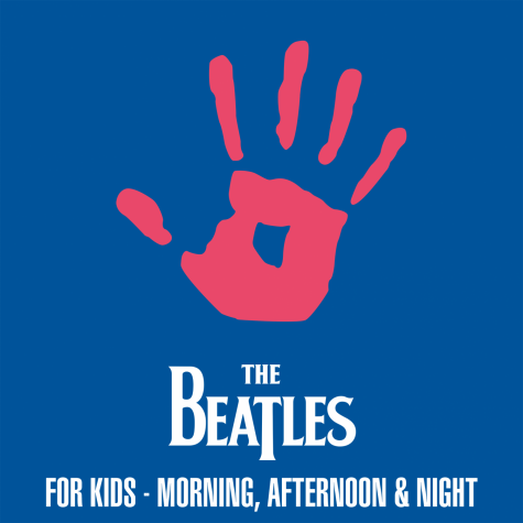 The cover contains the paint hand-print of a child to dedicate the EP to young listeners.