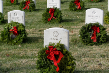 This holiday season, get involved with local volunteer events like Wreaths Across America.