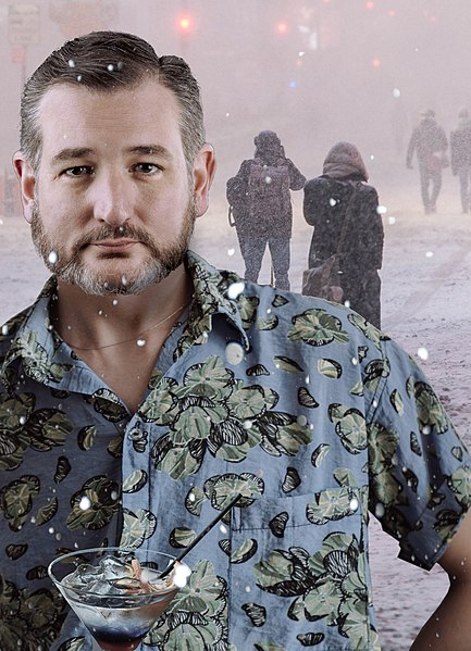 In the midst of the snow storm in Texas, Sen. Ted Cruz flew to Cancun.