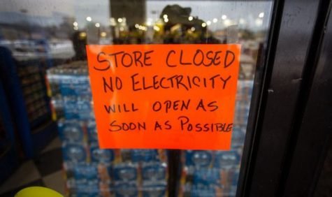 Many businesses and homes in Texas have lost power, unsure of when it will return.