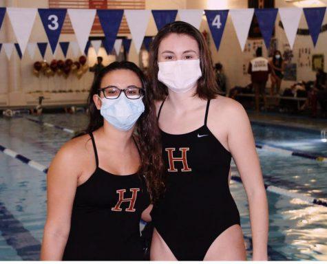Girls Swim Senior Night Looked a Bit Different This Year