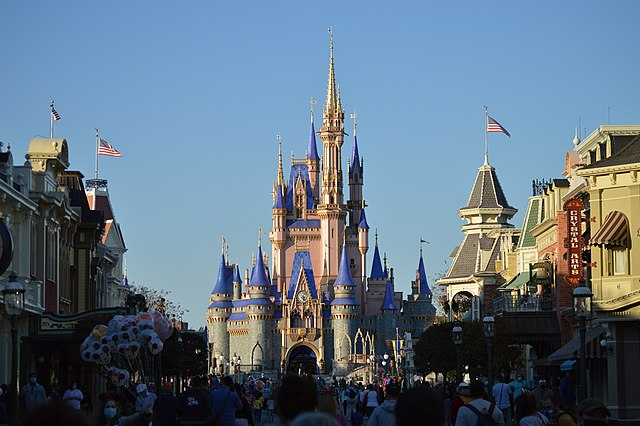 Disney World is continuing business during the COVID-19 outbreak.